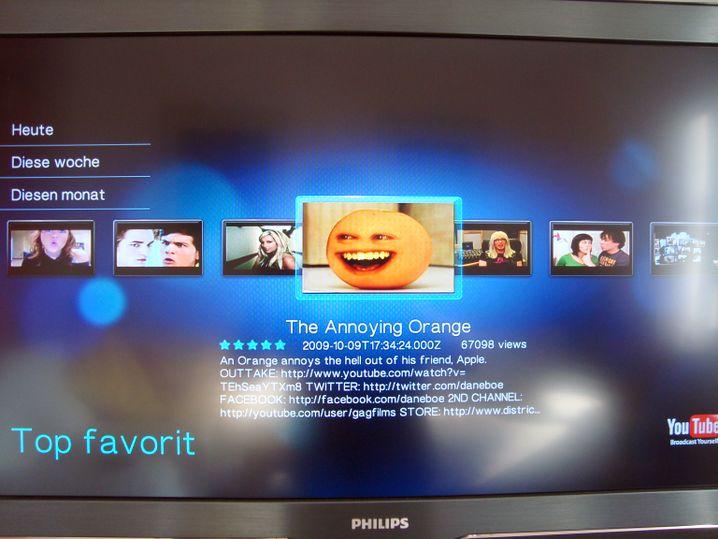HD-Mediaplayer: Bringen Filme von der Festplatte und aus dem Web auf den Fernseher