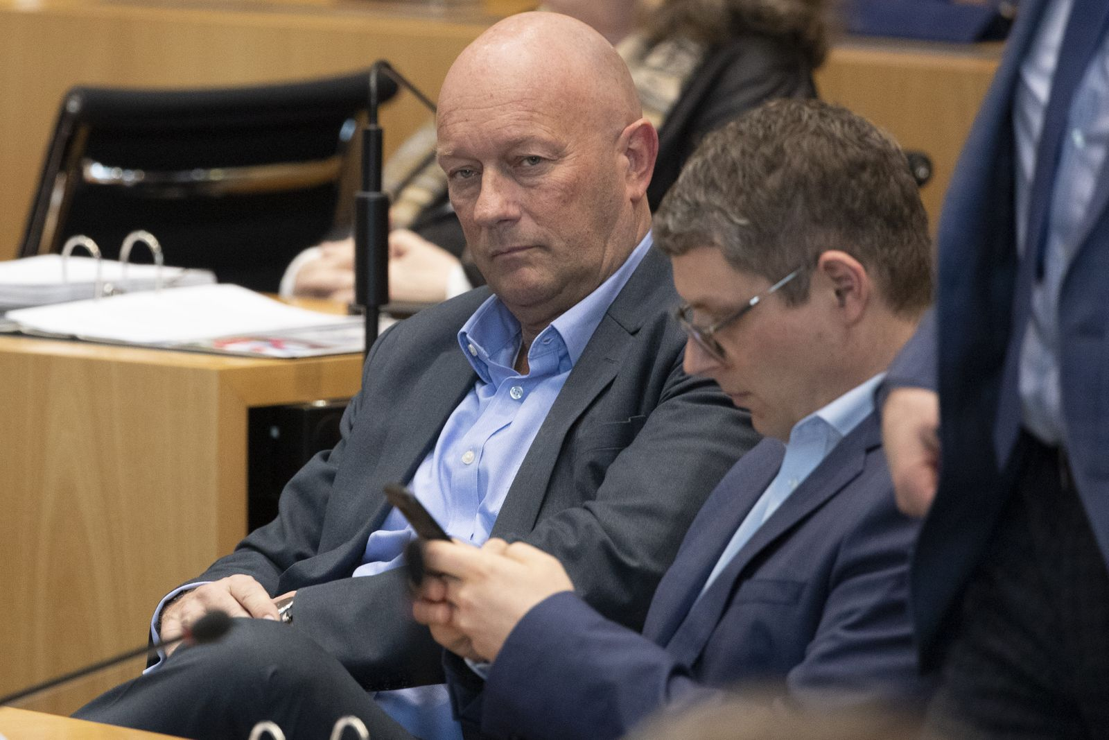 Thuringia Parliament Holds Gubernatorial Election, Again