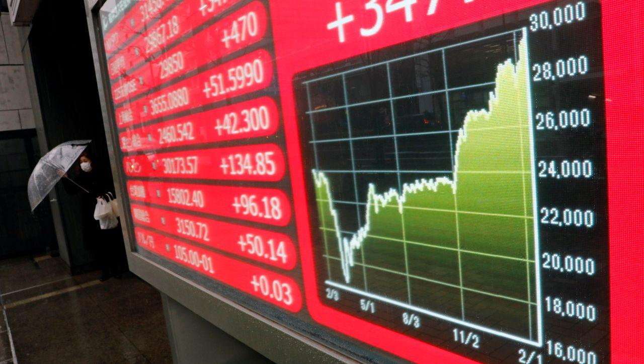Nikkei-Index: Japans Börse steigt auf 30-Jahres-Hoch - DER SPIEGEL