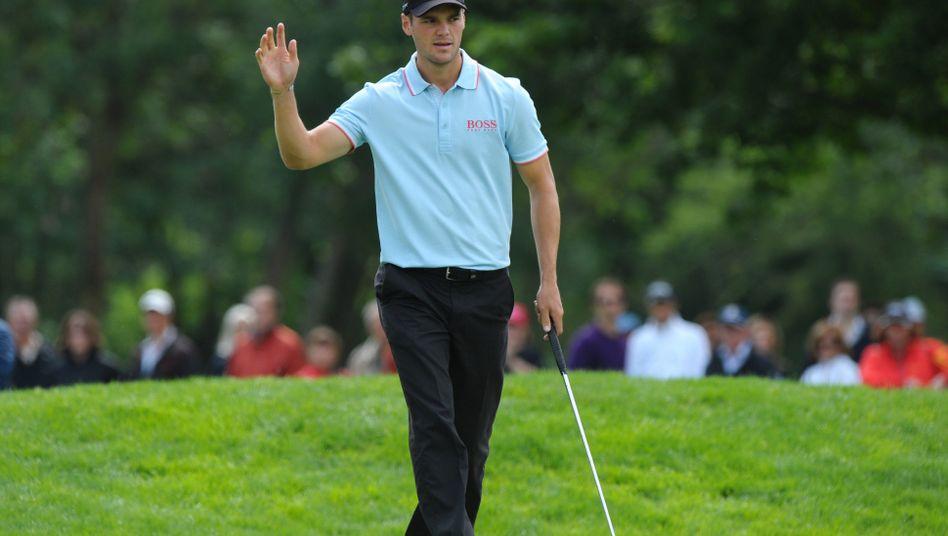Golf-Profi Kaymer: Vier Schläge Rückstand