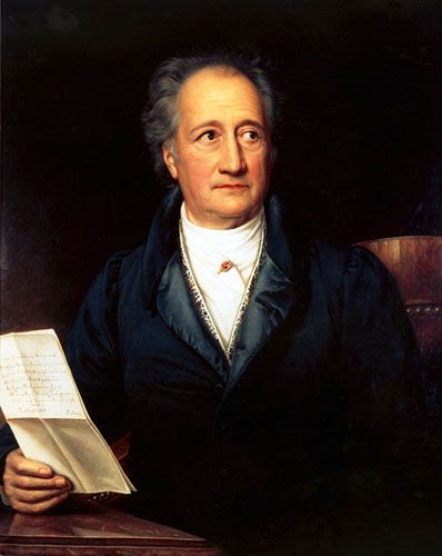 "Großdichter Goethe: Briefe an die ""Liebe Frau"""