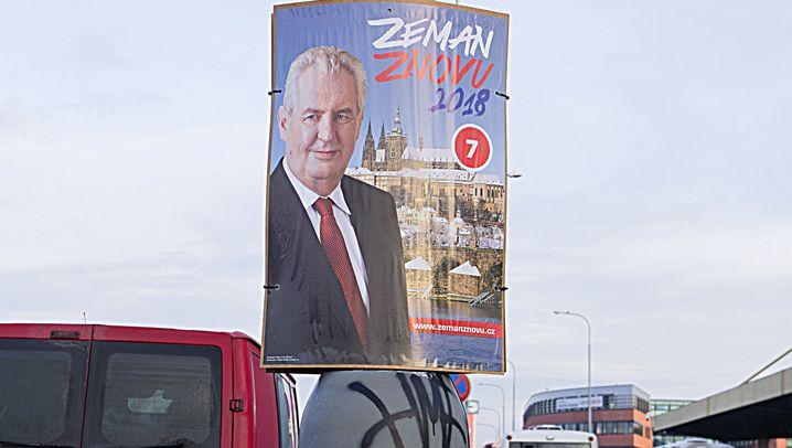 Präsidentenwahl in Tschechien: Pöbeln und provozieren
