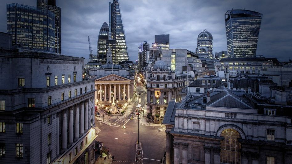 Londoner Bankenviertel