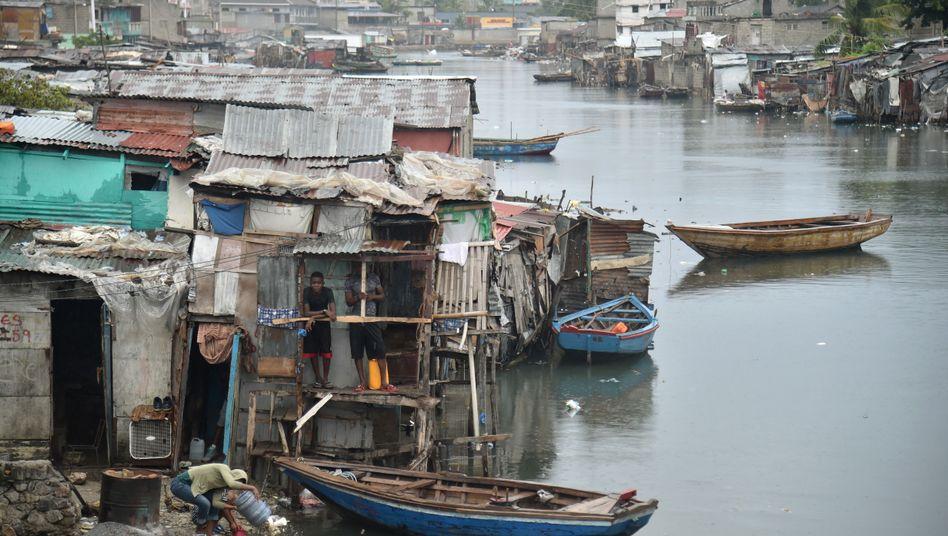 Armensiedlung in Haiti