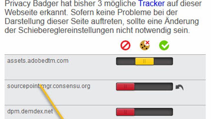 """Privacy Badger"""