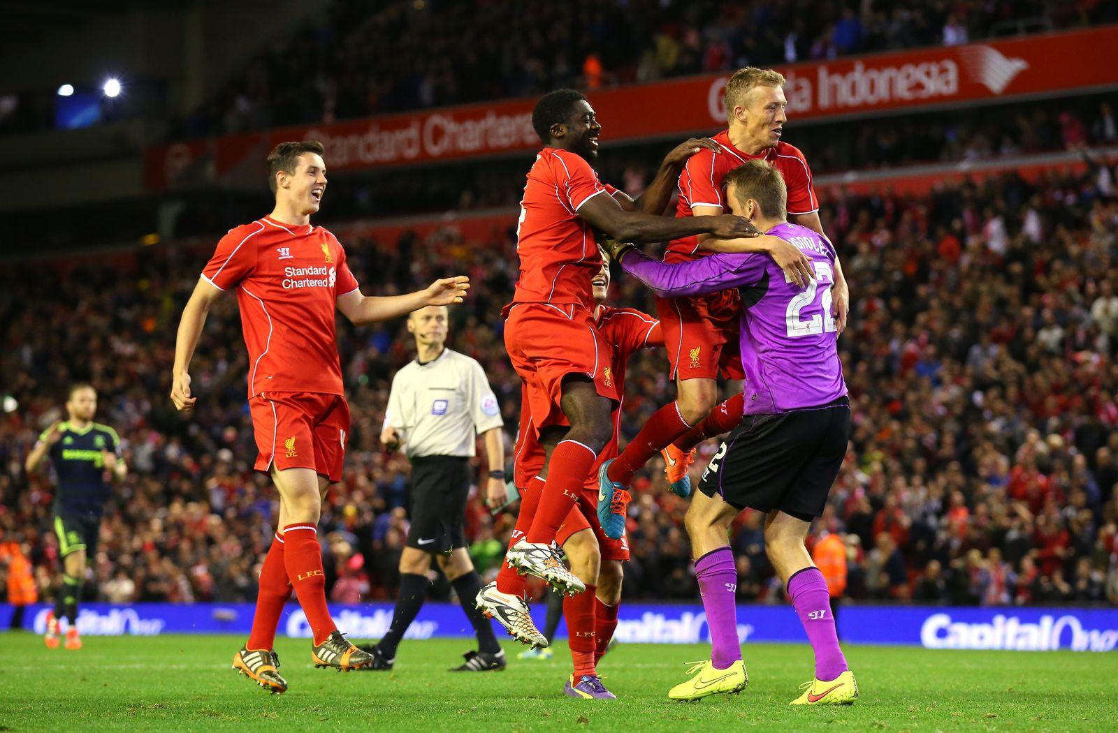 Liverpool Jubel nach Elfmeterschießen