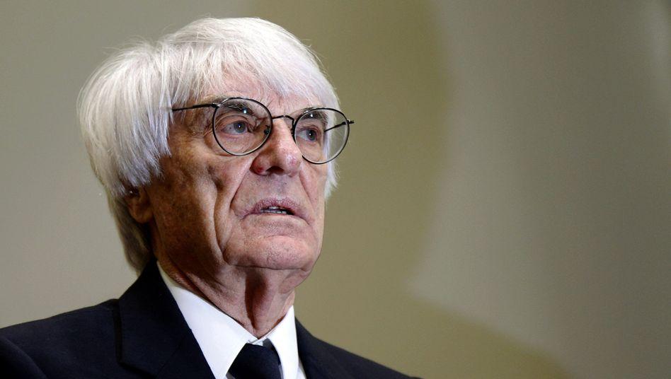 Formel-1-Chef Ecclestone: 25 Millionen Euro sind zu wenig
