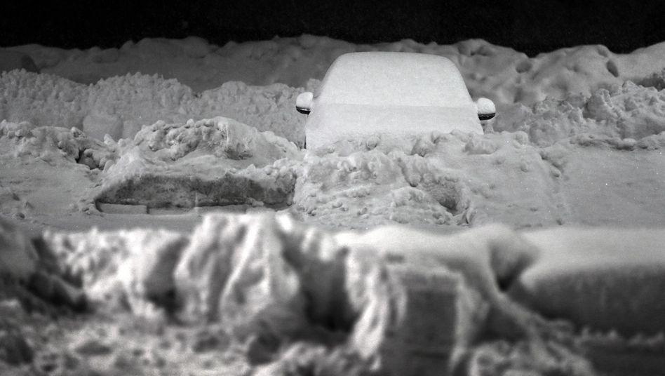 Heftige Schneefälle sorgen im Alpenraum für Chaos