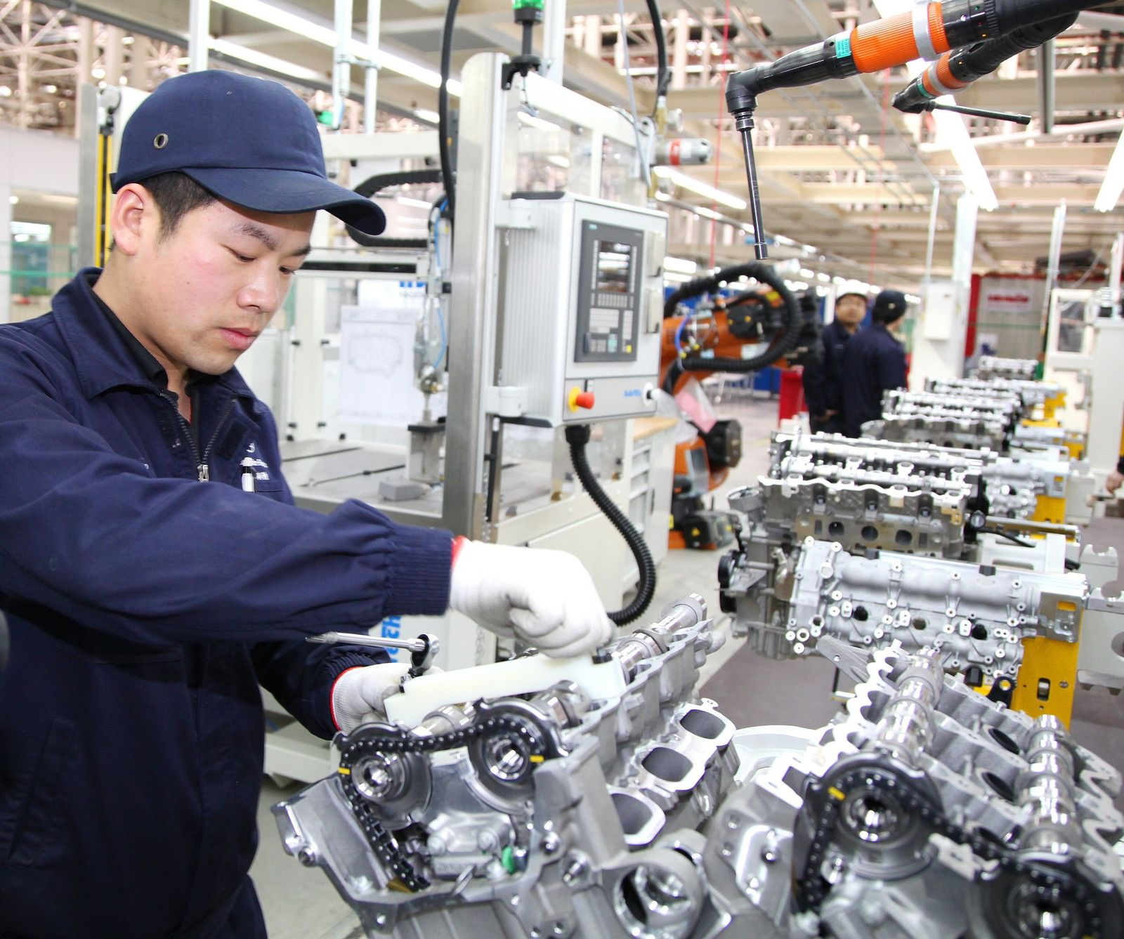 Daimlers neues Motorenwerk in China
