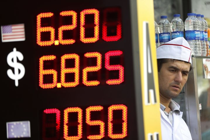 Wechselkurse in Istanbul