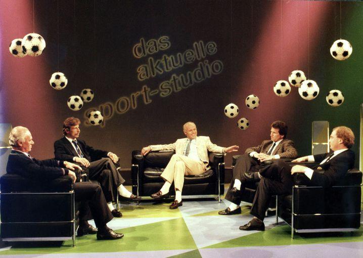"""Im Mai 1989 prallten Daum und Hoeneß im """"Aktuellen Sportstudio"""" heftig aufeinander"""