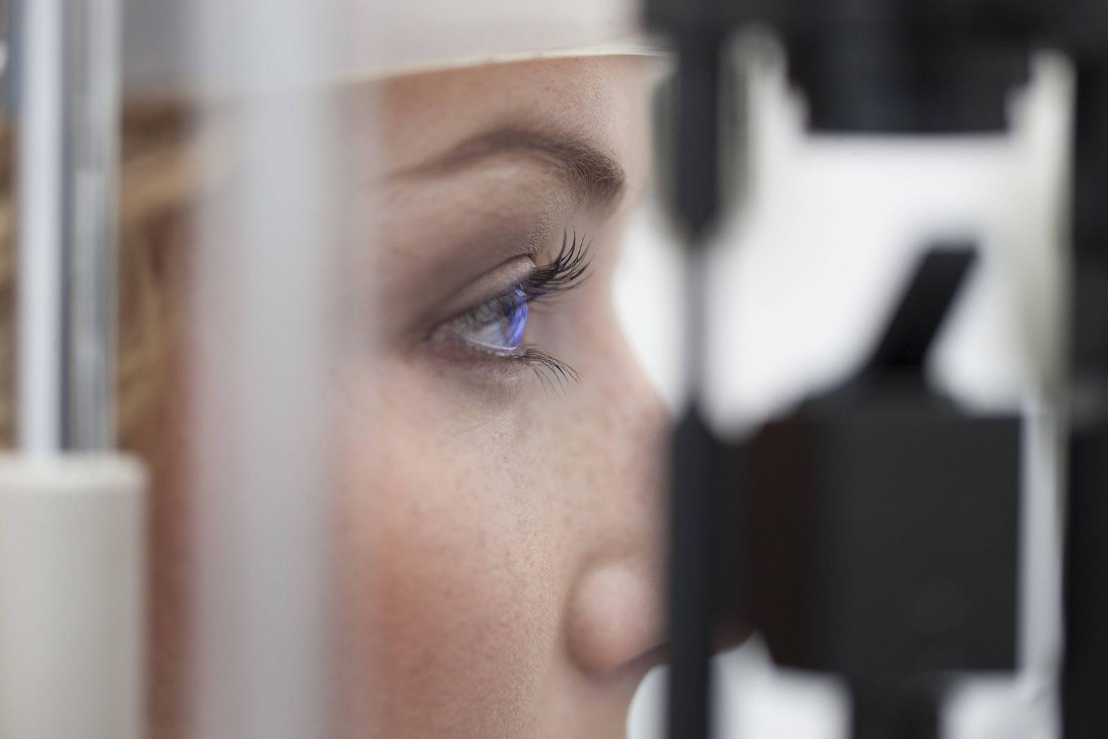 EINMALIGE VERWENDUNG Untersuchung/ Augenarzt