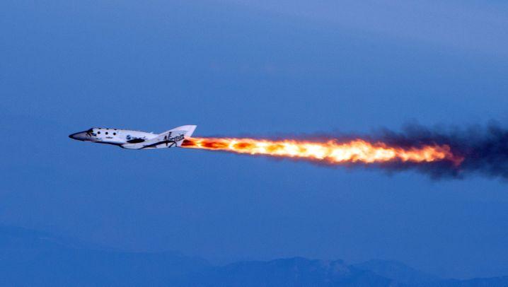 Absturz von SpaceShipTwo: Virgins Raumfähre ist verunglückt