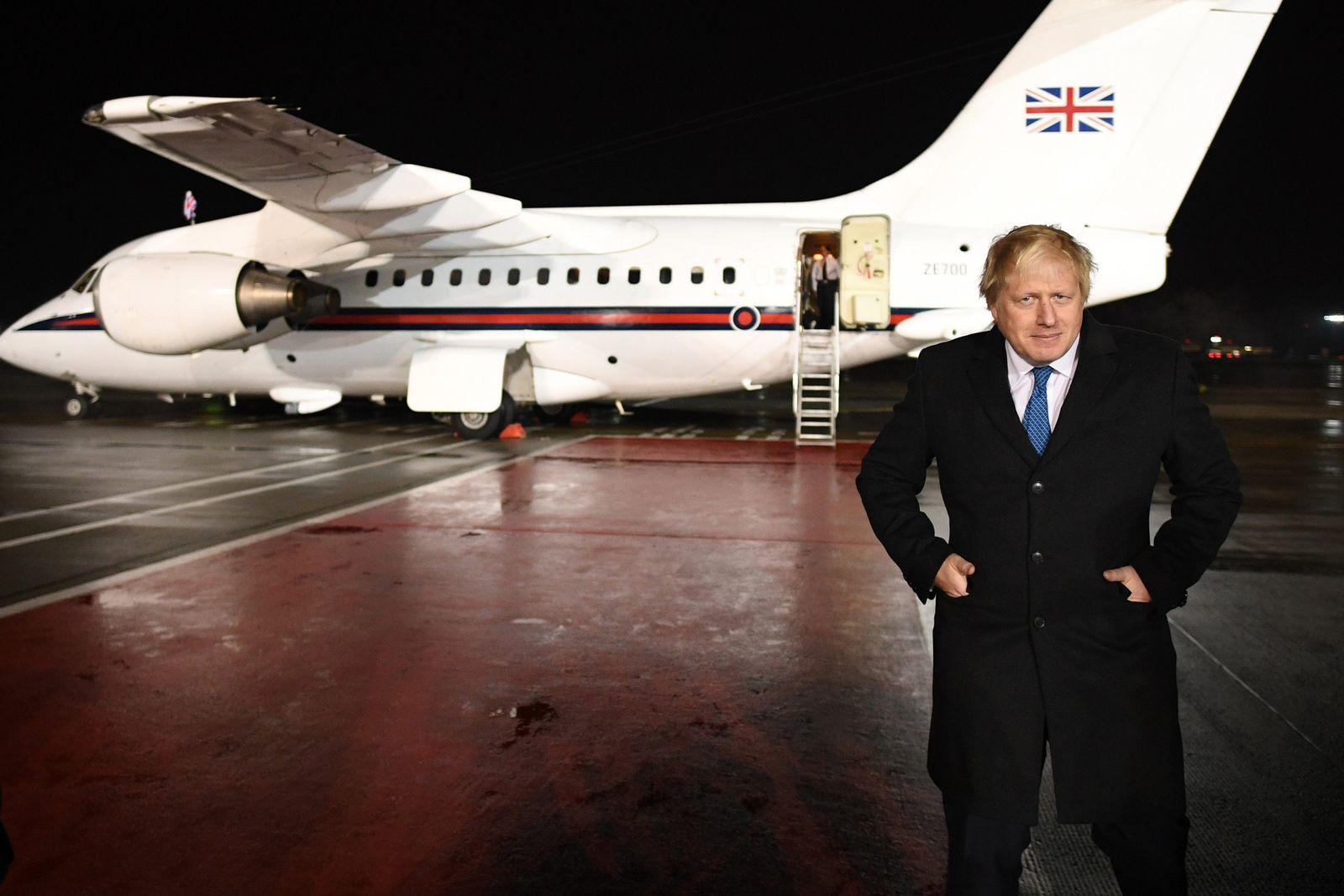 Boris Johnson in Russland