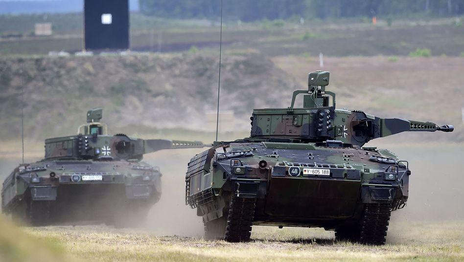 Schützenpanzer Puma: Verbesserungen geplant