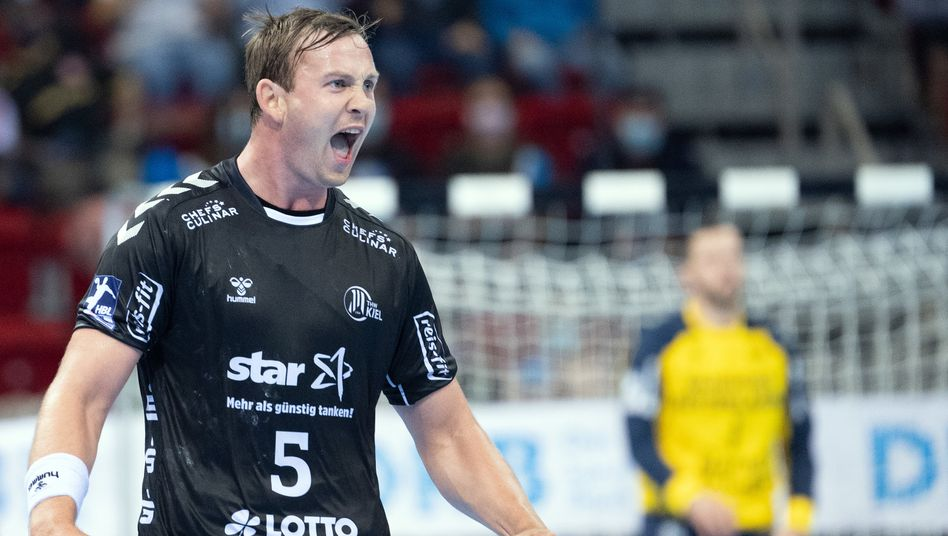 Sander Sagosen erzielte sieben Tore für Kiel