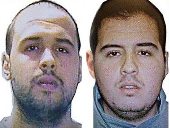 Khalid (l.) und Ibrahim El Bakraoui