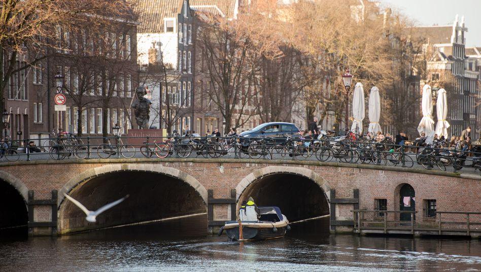 Beliebt bei Touristen: Amsterdams Grachten