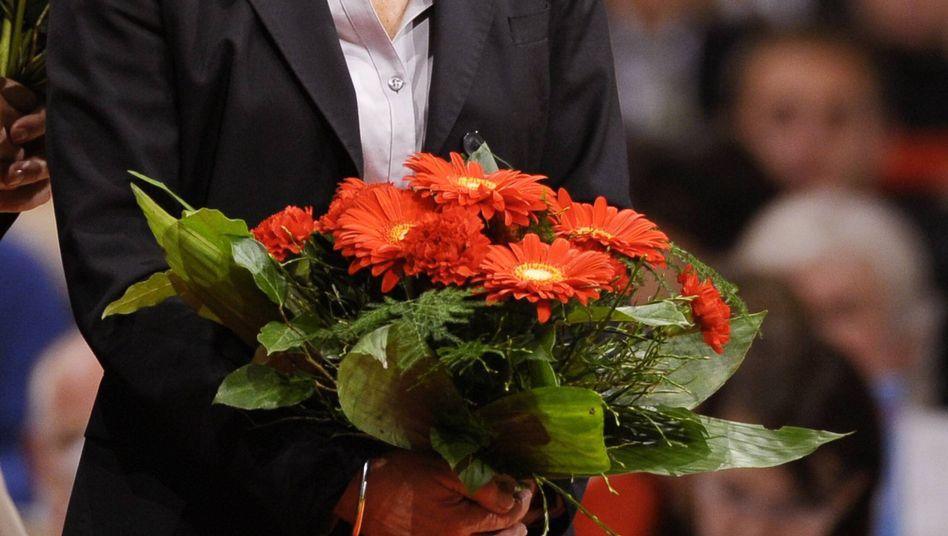 SPD-Politikerin Ypsilanti (bei Dresdner Parteitag 2009): Eine Frau ganz links