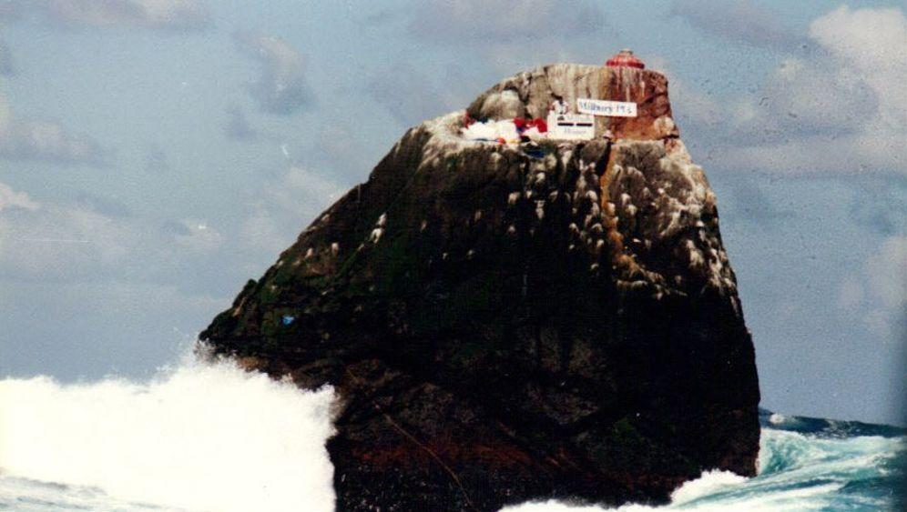 Abenteurer McClean: Leben auf einem Felsen im Atlantik