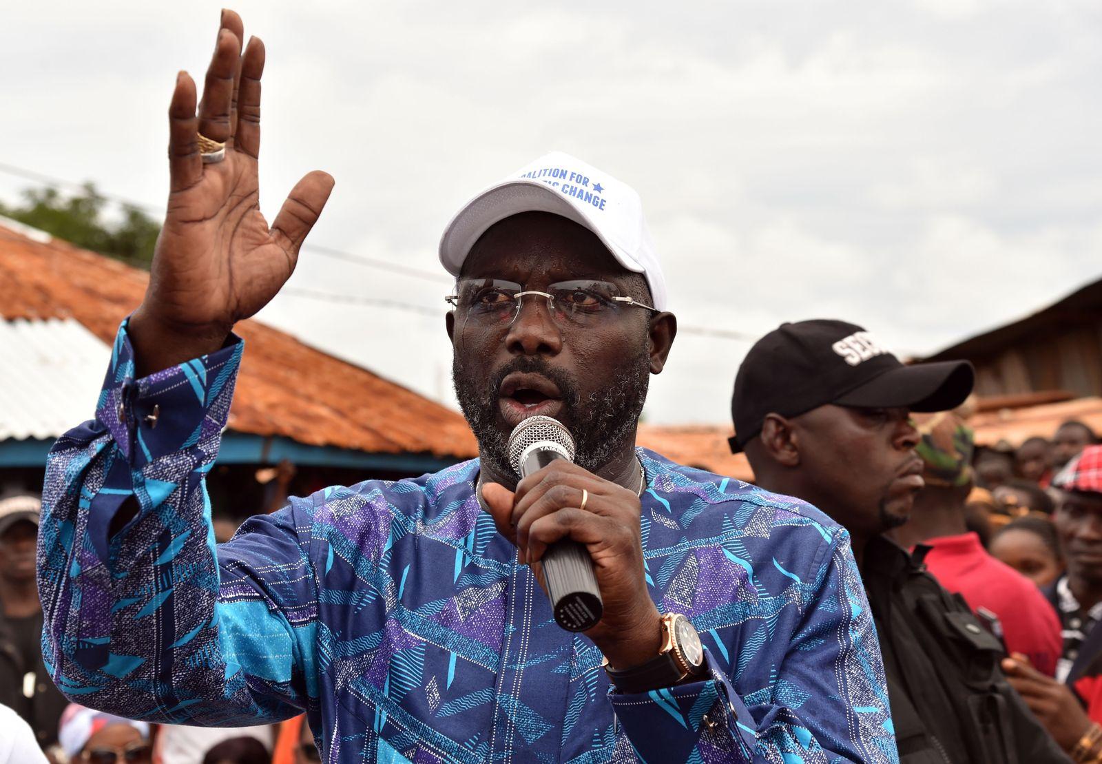 Liberia/ Wahlen/ George Weah