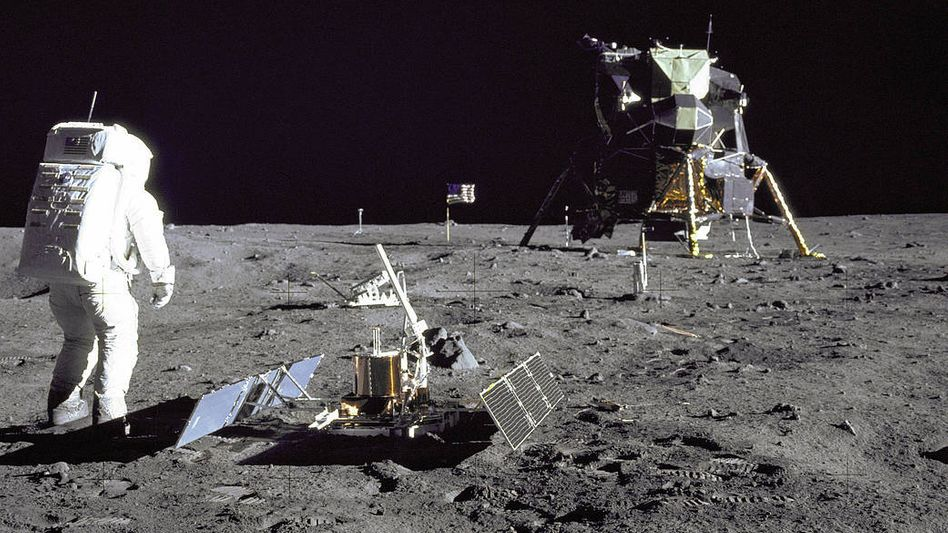 Kein Lügner: US-Astronaut Buzz Aldrin war wirklich auf dem Mond