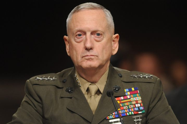 Verteidigungsminister James Mattis