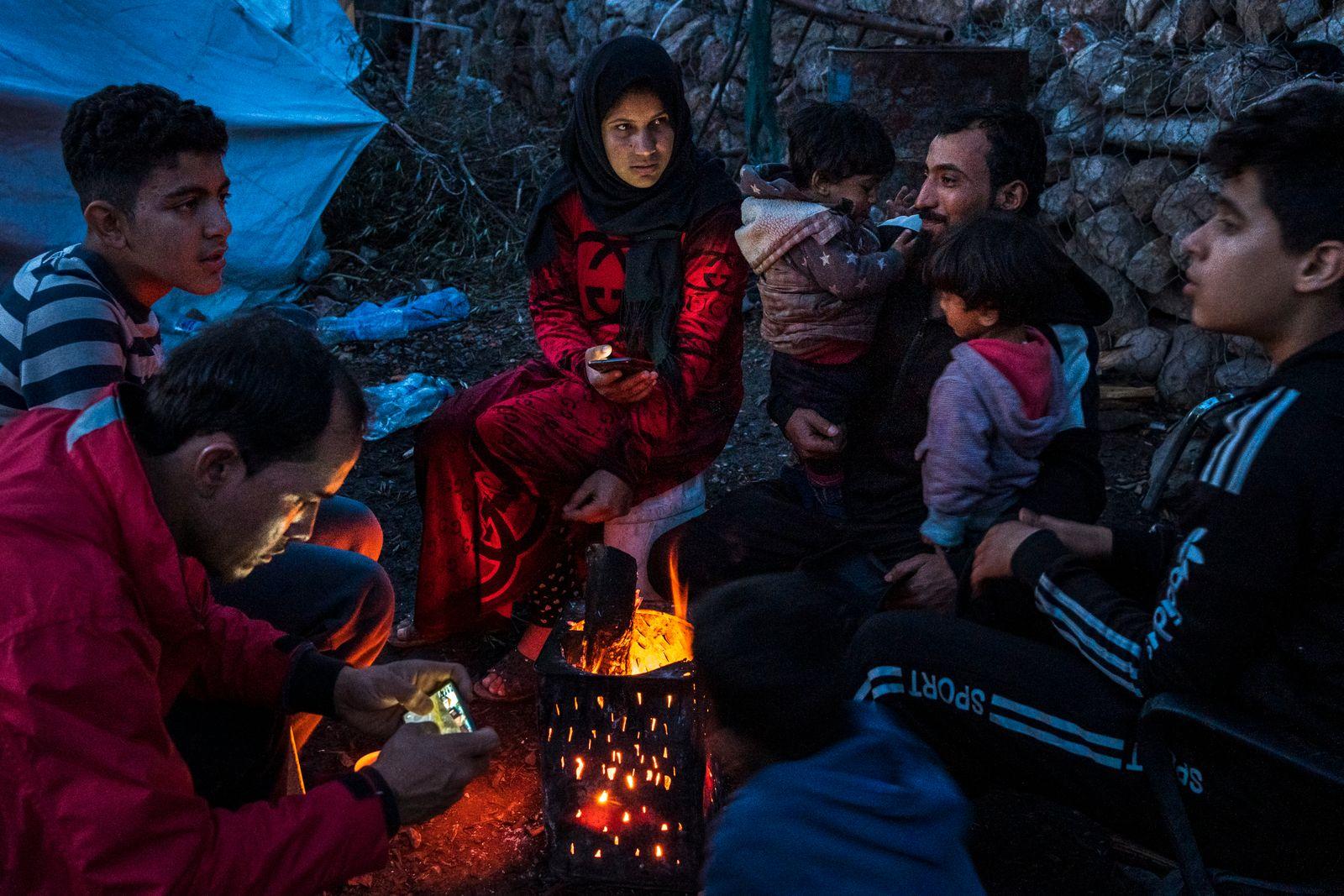 Greece, Lesbos, Moria Refugees