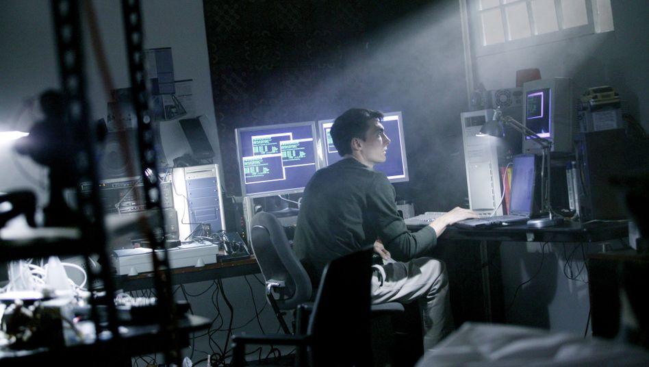 Hacker: Viele sitzen in Wahrheit in Kinderzimmern, die viel freundlicher gestaltet sind
