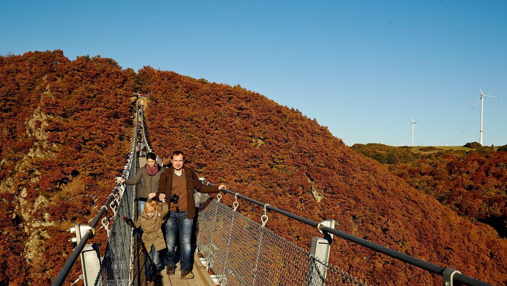 Geierlay im Hunsrück: Deutschlands längste Hängeseilbrücke