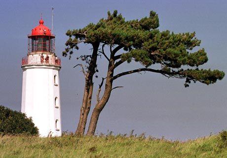 Leuchtturm Dornbusch: Attraktion auf Hiddensee