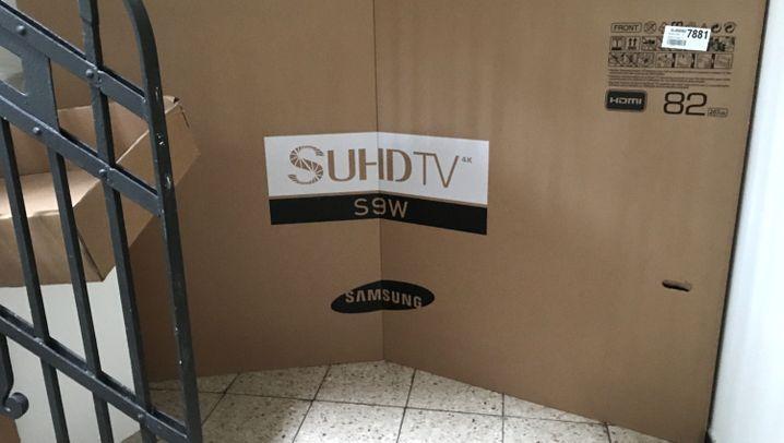 Fernseher im Kinoformat: Der Samsung S9W im Test