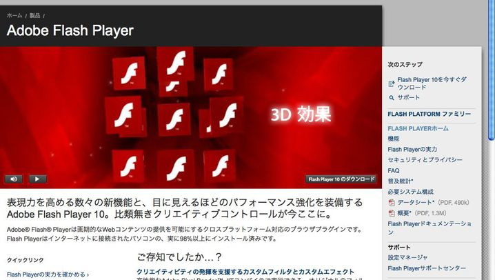 Flash: Ein Multimedia-Player beherrscht das Web