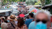 Frankreich führt landesweite Maskenpflicht für Unternehmen ein