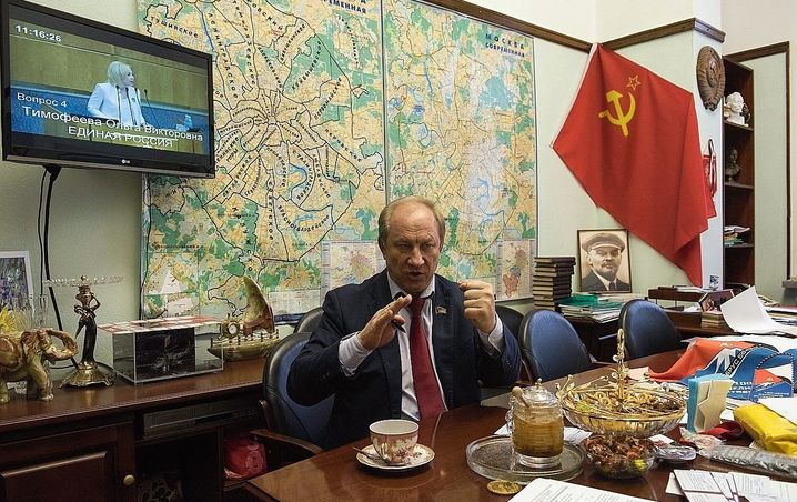 """Duma member Valery Rashkin: """"It became clear to me: People, this is a fake!"""""""