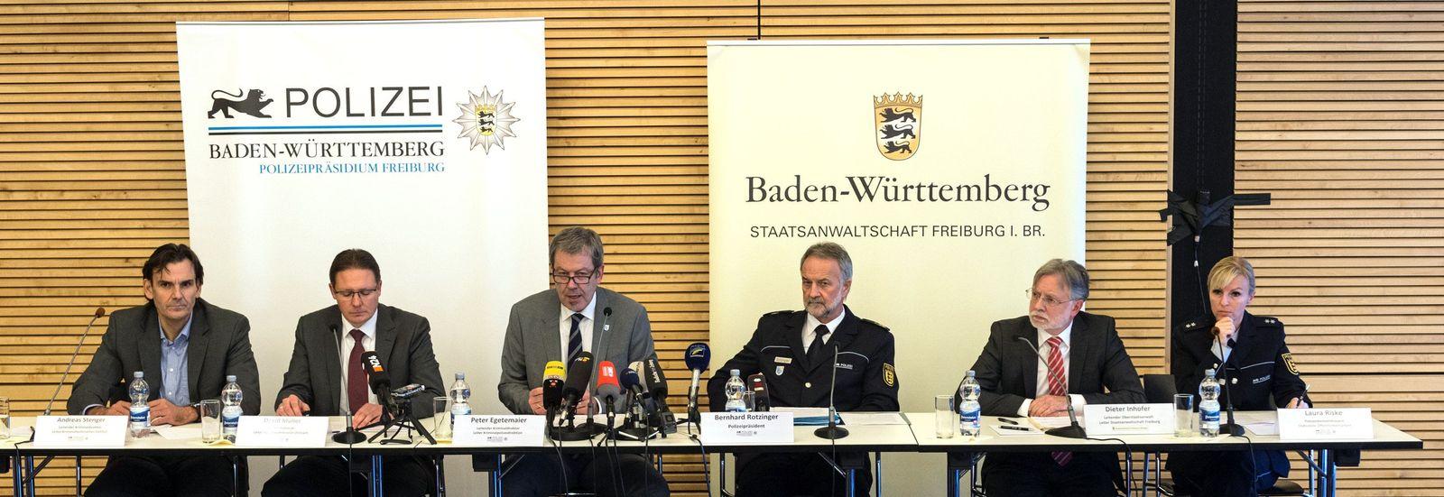 Ermordete Studentin Freiburg - Polizei PK