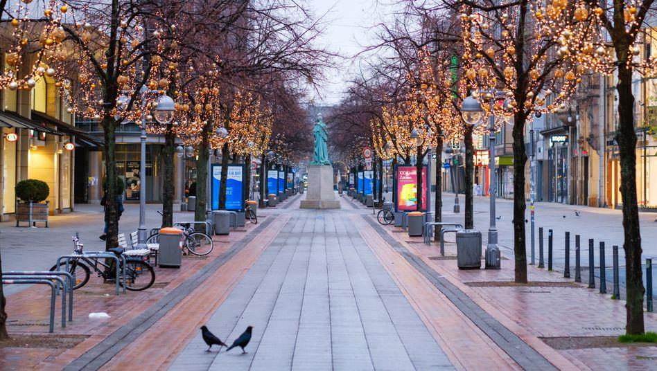 Innenstadt von Hannover: Mit der sogenannten Überbrückungshilfe III soll dem Handel im Januar geholfen werden