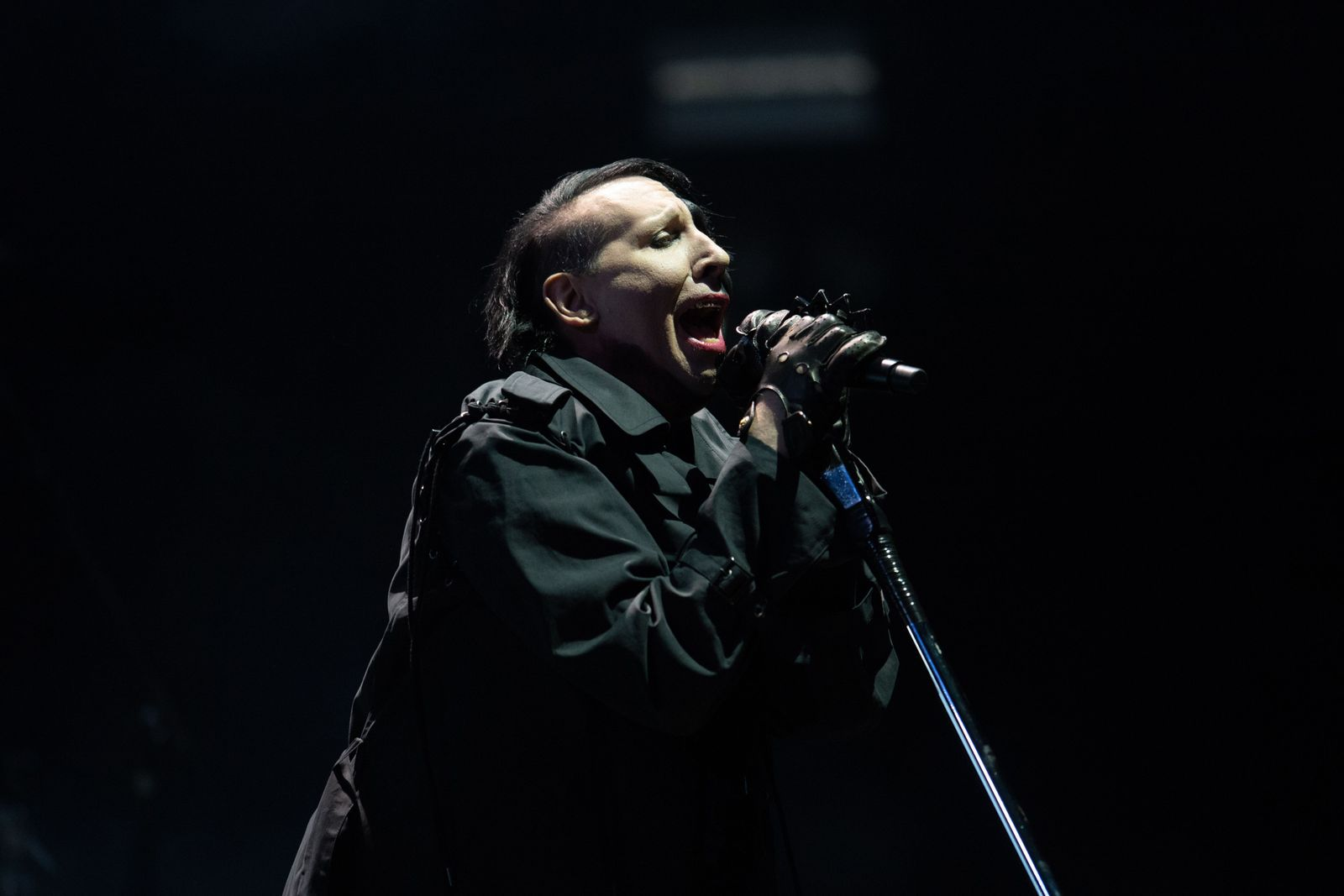 Artist accuses Marilyn Manson of abuse, Nuremberg, Germany - 02 Jun 2018