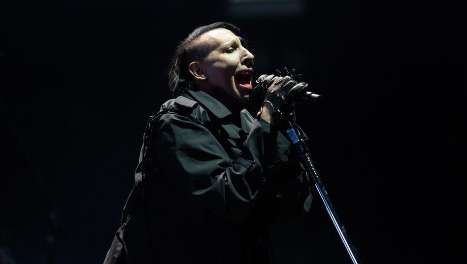 Marilyn Manson auf der Bühne – gegen ihn werden weitere Vorwürfe erhoben