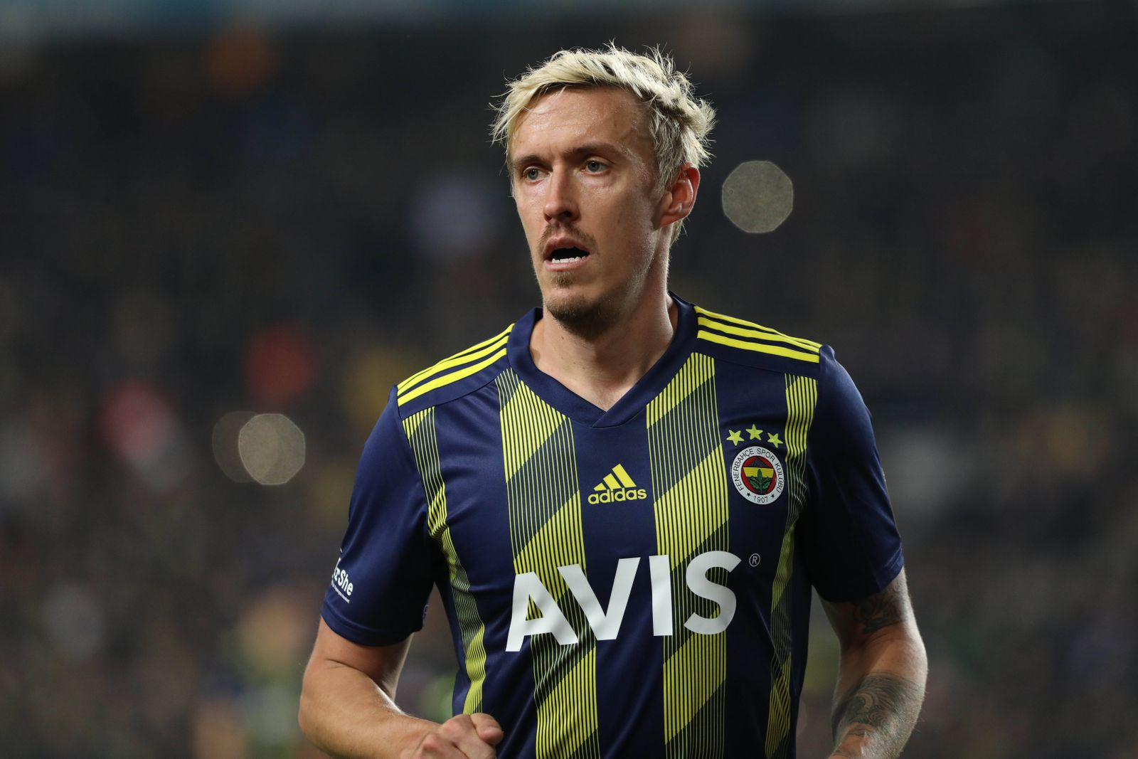 Max Kruse of Fenerbahce during the Turkish Super league football match between Fenerbahce and Basaksehir at Ulker Stadi