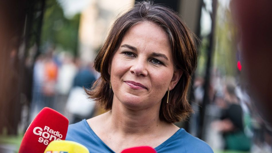 Grünen-Chefin Baerbock: Kandidatur als »Kriegserklärung«