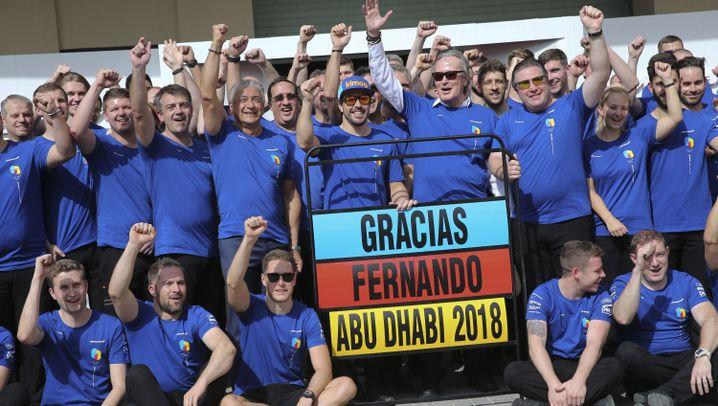 Formel 1: Promis und Donuts zum Abschied