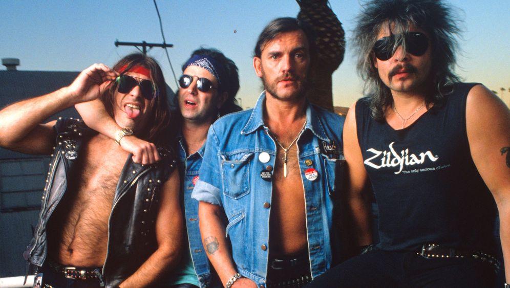 Motörhead: Gitarre, Bass, Schlagzeug, 120dBA