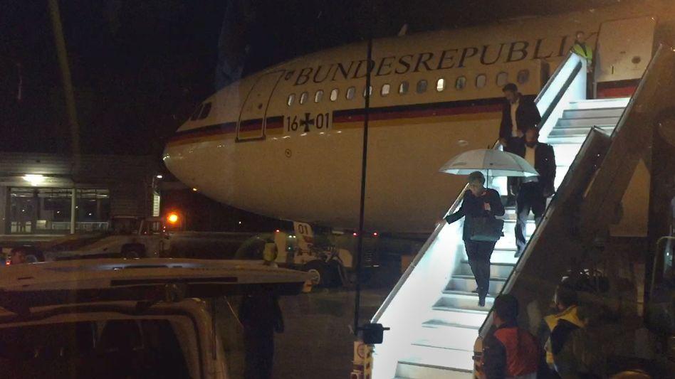 """Kanzlerin Merkel verlässt Ende November den Airbus """"Konrad Adenauer"""" wegen eines technischen Defekts"""