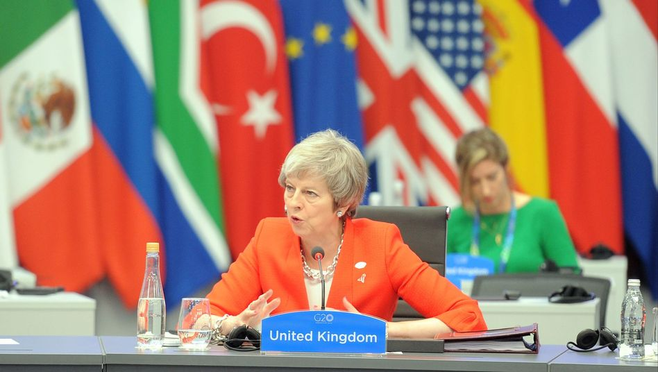 Theresa May beim G20-Gipfel in Buenos Aires