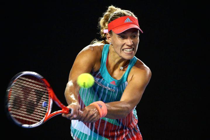 Angelique Kerber bei ihrem Australian-Open-Sieg 2016: Sie braucht absolute Fitness für ihr kraftvolles Spiel