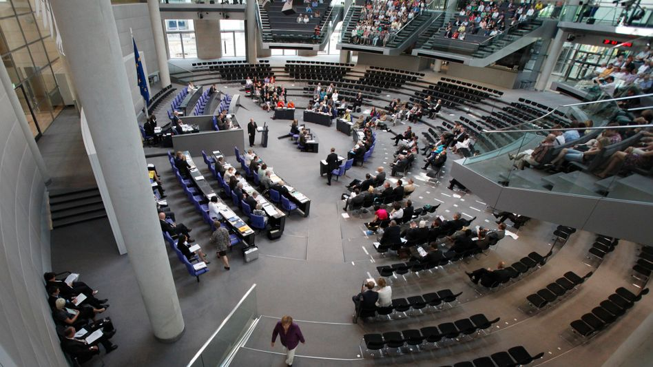 Am Donnerstag im Bundestag: Die Sitzung ist für den Verlauf des Weltgeschehens irrelevant
