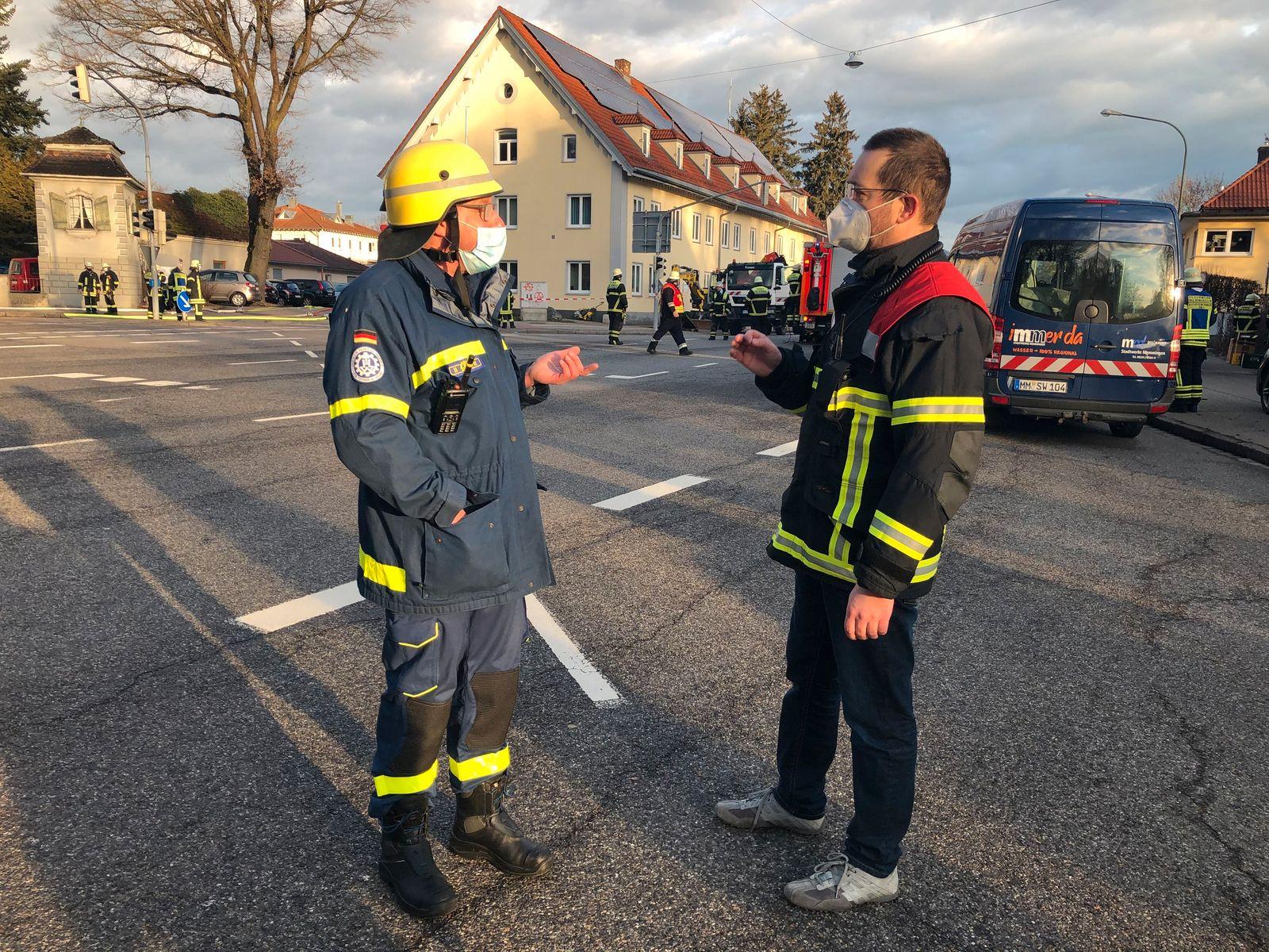 Mehrere Verletzte bei Gasexplosion