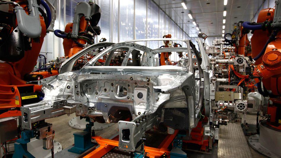 Auch die Produktion im Audi-Stammwerk in Ingolstadt könnte betroffen sein