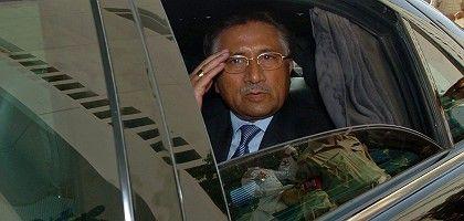 Pakistan President Pervez Musharraf after his resignation on Monday.